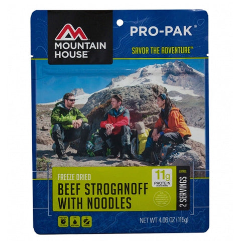 Mountain House Food  Beef Stroganoff with Noodles Bulk Case 0050119,Food Storage,[e-nbglobalestore]