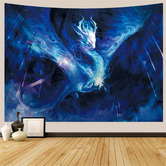 Space Dragon Tapestry
