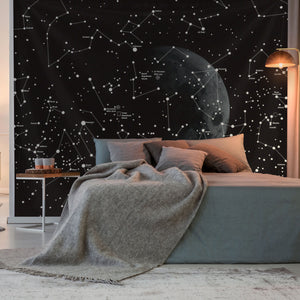 Black-And-White-Constellation-Tapestry
