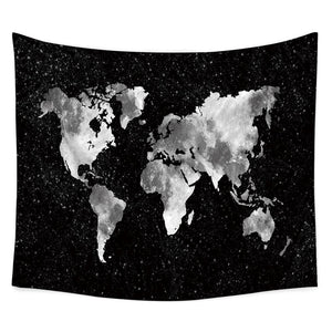 Black-Map-Wall-Tapestry