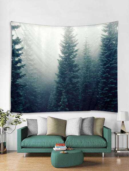 Forest Wall Tapestry Landscape