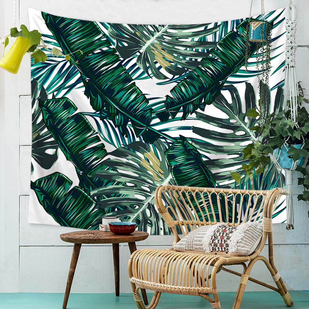 Tropical-Green-Leavers-Tapestry