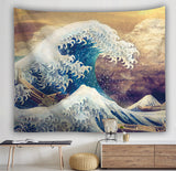 The Great Wave off Kanagawa Tapestry Wall Hanging