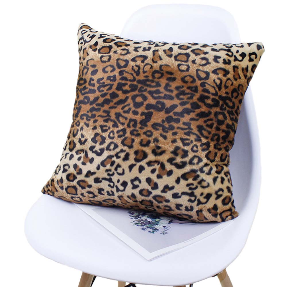 Leopard Cheetah Print Pillow