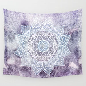 Mandala Pattern Tapestry Wall Hanging