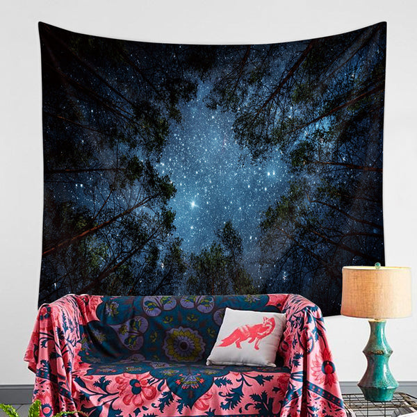 Galaxy-Tree-Tapestry