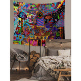 Psychedelic Trippy Wall Tapestry C