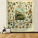 Mollusques Vintage Tapestry