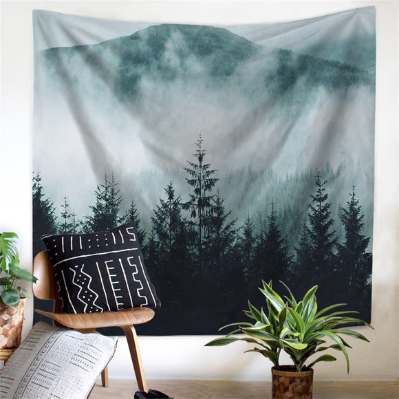 Mountain Wall Tapestry 09