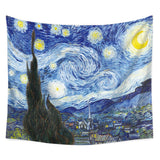 The Starry Night Tapestry Wall Hanging Vincent Van Gogh