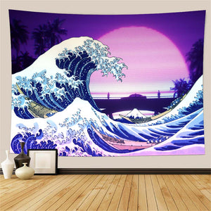 retro-palm-great-wave-wall-tapestry