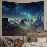 Alien Planet Wall Tapestry