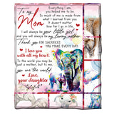 To my Mom Blanket from Daughter