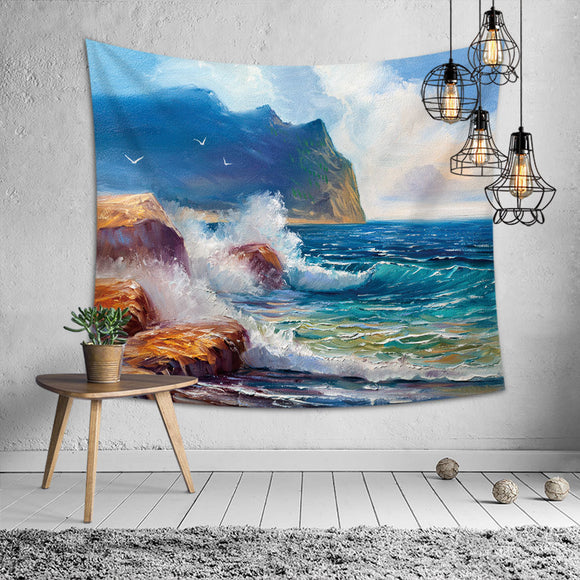 Wave-Beach-Tapestry