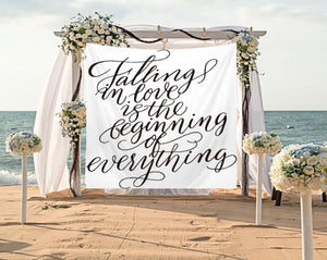 Wedding Backdrop Tapestry