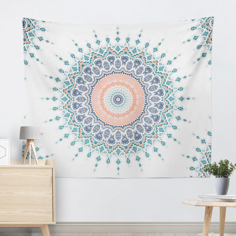 White-Green-Mandala-Wall-Tapestry-Indian-Art