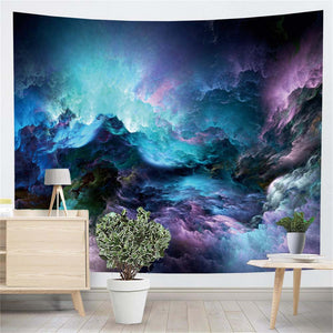 Abstract Clouds Tapestry