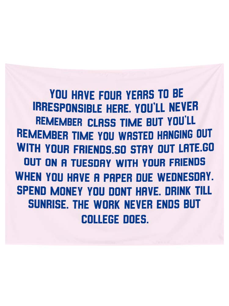 college-quote-tapestry