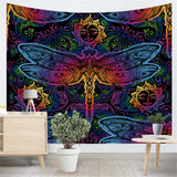 Paisley Dragonfly Tapestry