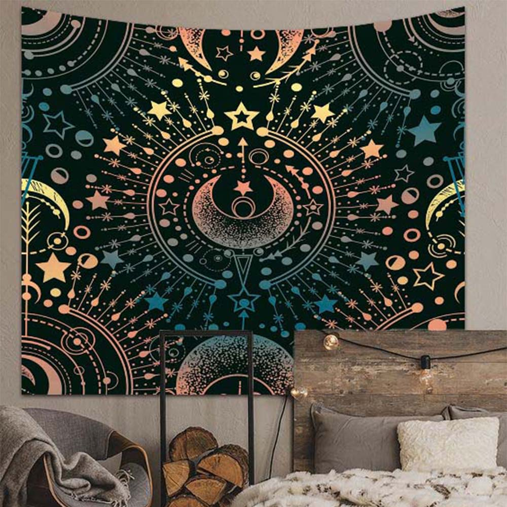 Magical Astrology Wall Tapestry