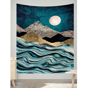 Mountains Art Wall Tapestry