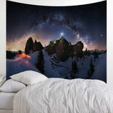 Snow Mountain Tapestry