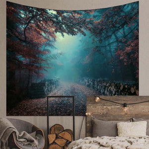 Mist Forest Wall Tapestry