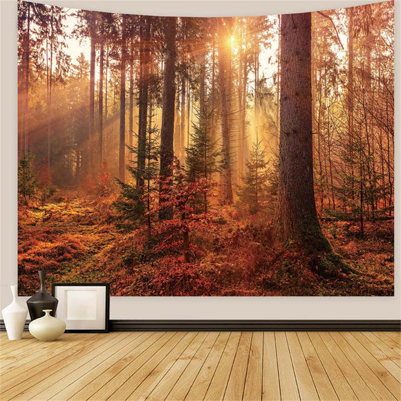 Beautiful Forest Wall Tapestry