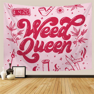 Pink Stoner Tapestry