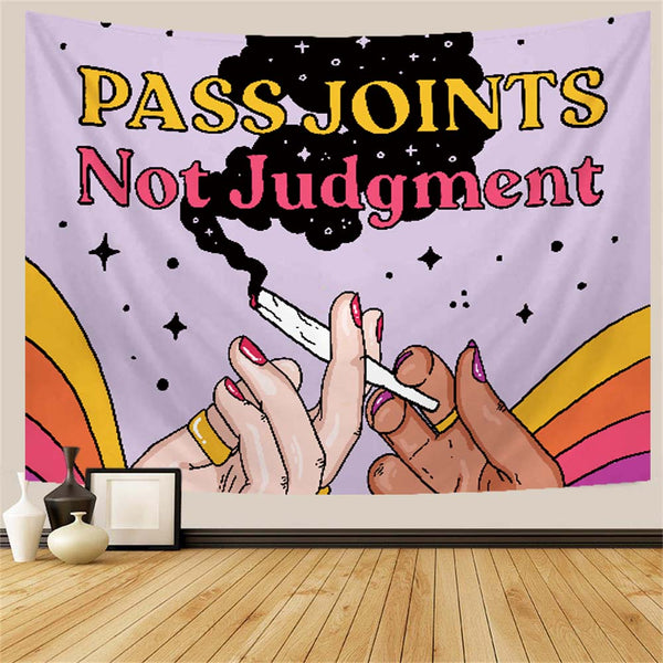 Pass Joints Stoner Tapestry
