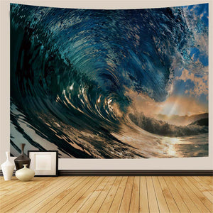 breaking-ocean-wave-tapestry