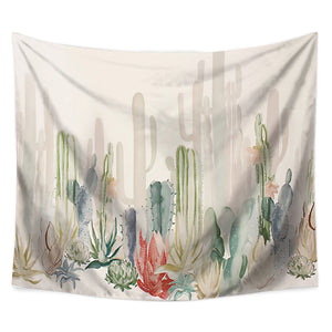 Cactus succulents Tapestry