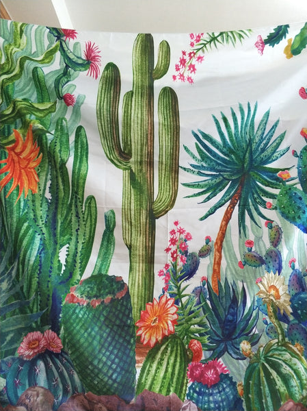 Cactus World Tapestry