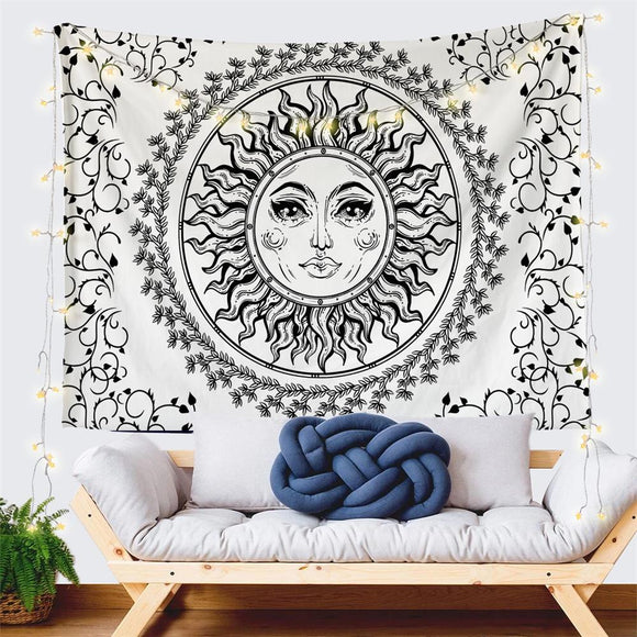 floral-sun-face-white-tapestry