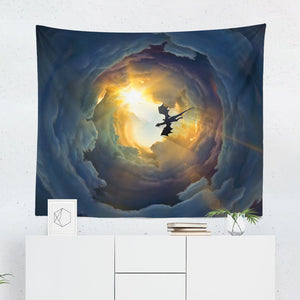 Flying Dragon Tapestry