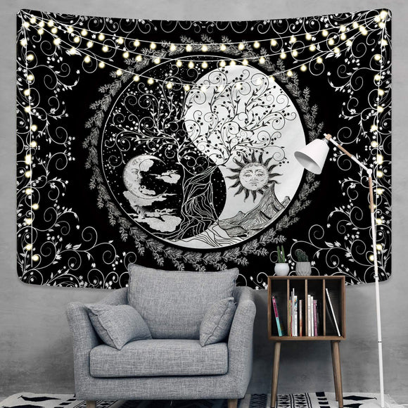 life-tree-floral-sun-moon-wall-tapestry