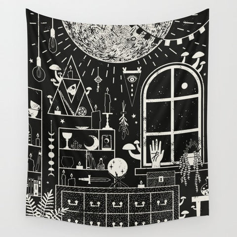 moon-altar-wall-tapestry