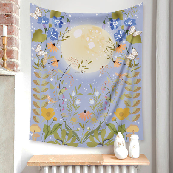 moon-butterfly-floral-tapestry