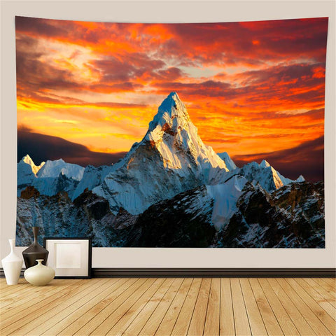 mountain-at-dusk-wall-tapestry