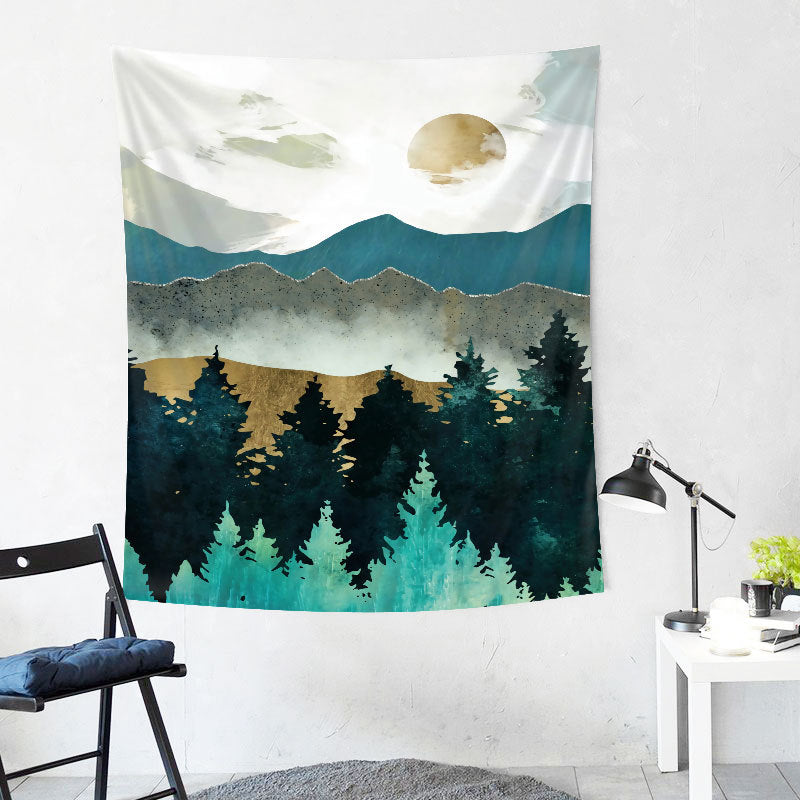 Mountain Wall Tapestry 23