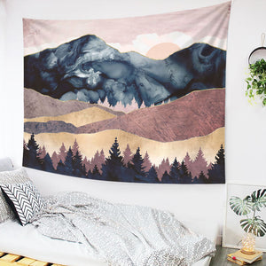 Mountain Wall Tapestry 25