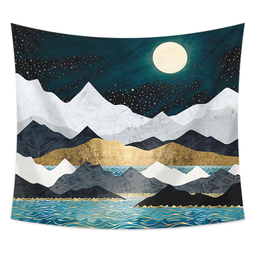 Mountain Wall Tapestry 34