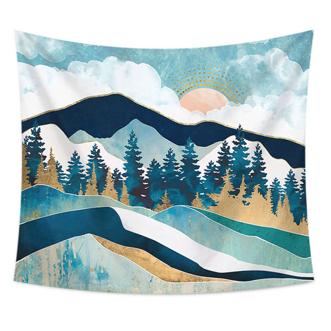 Mountain Wall Tapestry 35