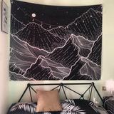 Mountain Wall Tapestry 37