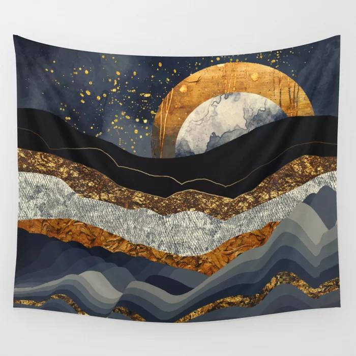 Mountain Wall Tapestry 38
