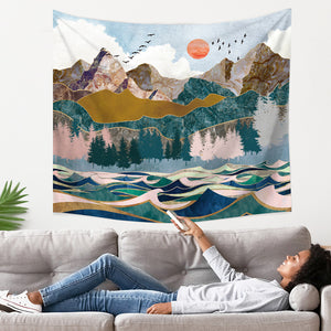 mountain-wave-forest-tapestry
