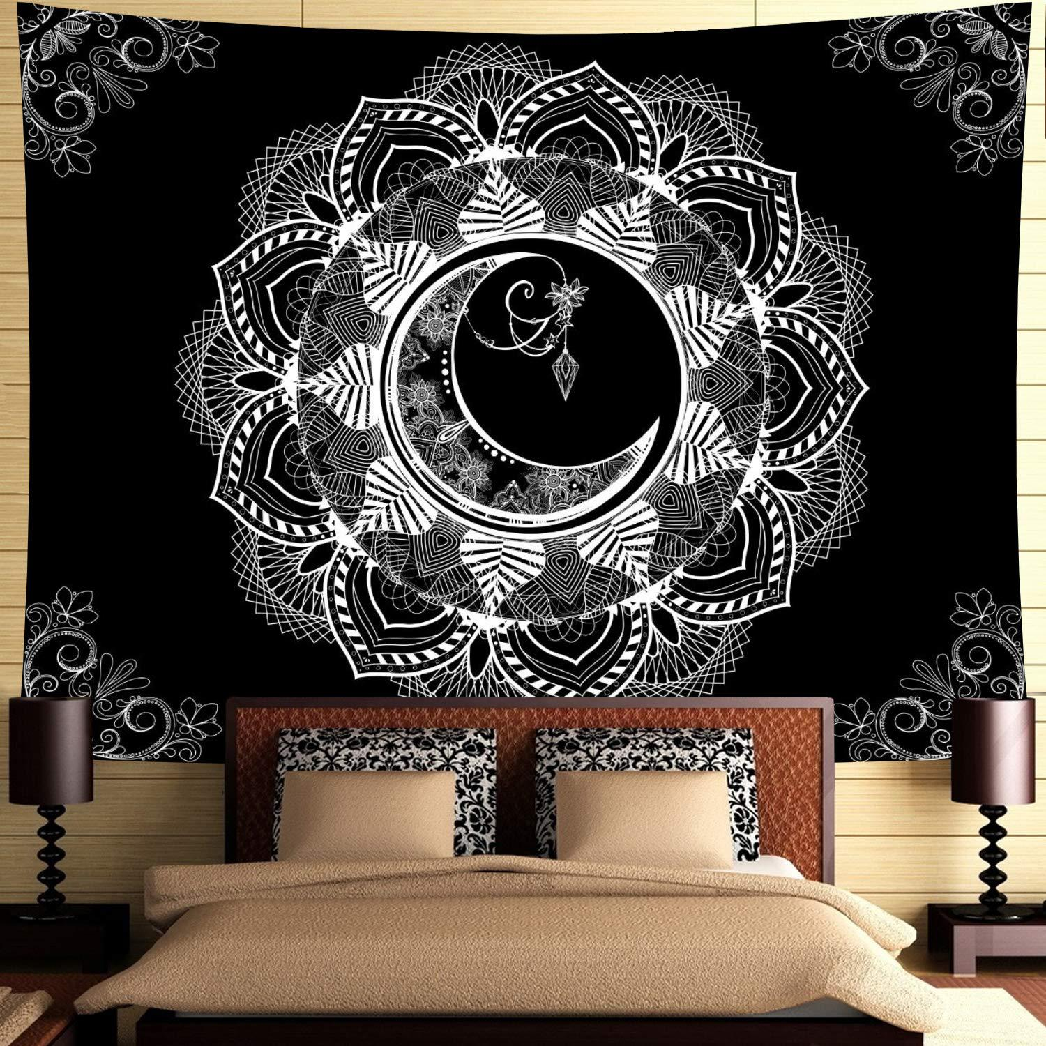 Lotus Moon Tapestry