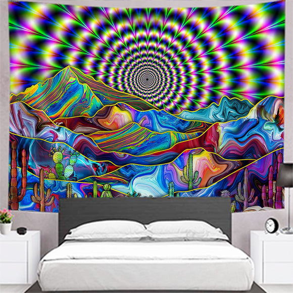 psychedelic-desert-cactus-tapestry