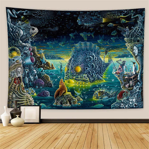 Sci-fi Wall Tapestry