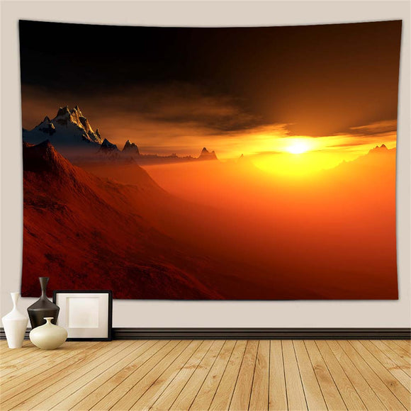 Sun Mountain Wall Tapestry